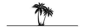palm tree divider