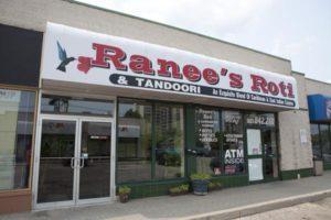 Ranee's Roti restaurant