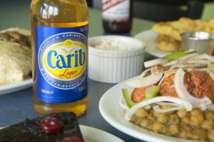 caribbean beer and food